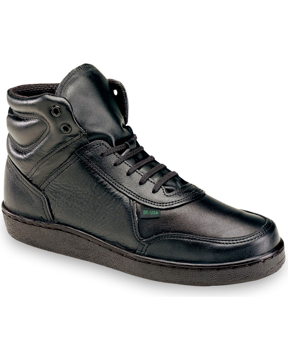 Thorogood Women's Postal Certified Code 3 Mid Cut Work Shoes , Black, hi-res