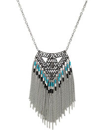 Shyanne® Women's Aztec Waterfall Necklace, , hi-res