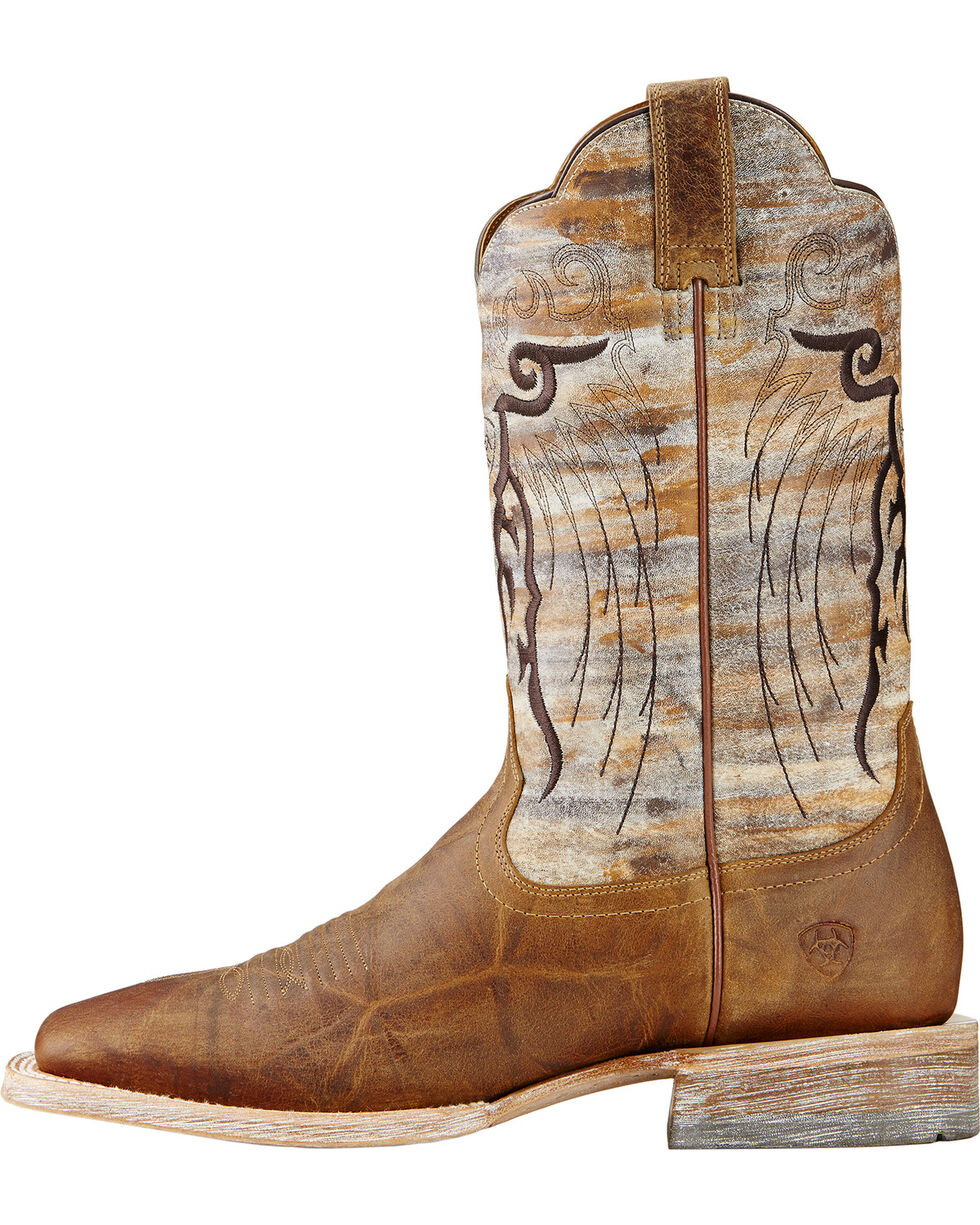 Ariat Men's Mesteno Western Boots, Tan, hi-res