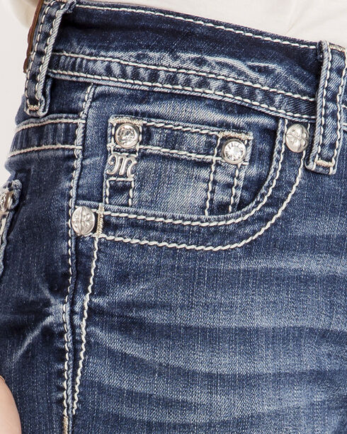 Miss Me Women's Indigo MM Moves Jeans - Boot Cut , Indigo, hi-res