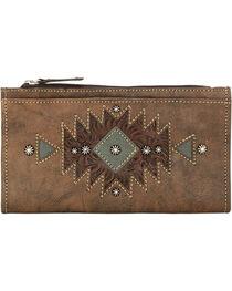 American West Women's Folded Western Wallet, , hi-res