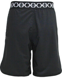Hooey Men's Black Board Shorts , , hi-res