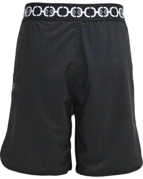 Hooey Men's Black Board Shorts , Black, hi-res
