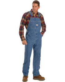 Round House Men's Denim Zip Overalls, , hi-res