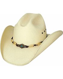 Bullhide Women's If You Want Fire Straw Hat, , hi-res