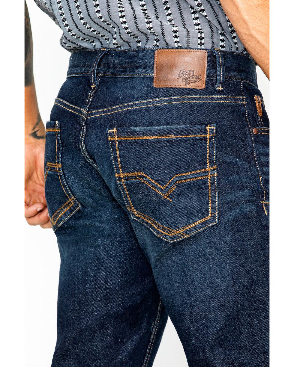 Moonshine Spirit Men's Straight Leg Jeans, Indigo, hi-res