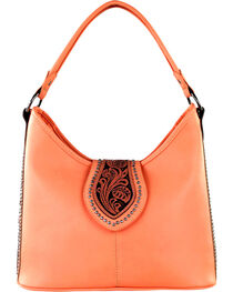 Montana West Women's Tooled Conceal Carry Purse , , hi-res