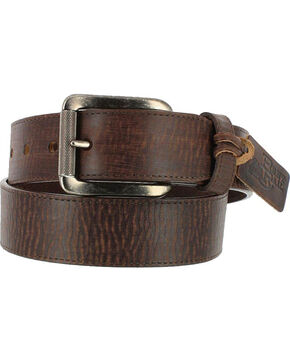 Justin Men's Brown Bomber Belt , Brown, hi-res