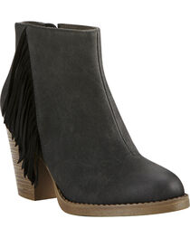 Ariat Women's Black Unbridled Shayla Booties, , hi-res