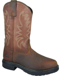 Smoky Mountain Men's Buffalo EH Work Boots - Round Toe, , hi-res