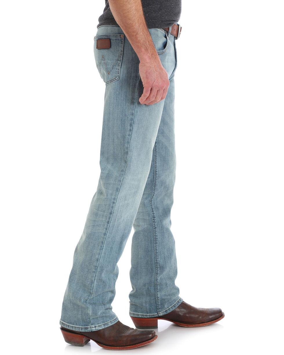 Wrangler Men's Retro Slim Fit Jeans - Boot Cut , Indigo, hi-res