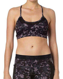 Miss Me Women's Camo Active Bra, , hi-res