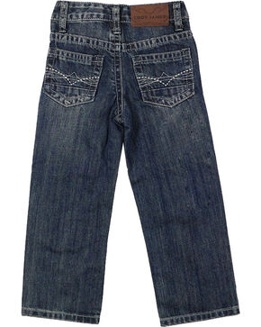 Cody James® Boys' Dusty Trail Boot Cut Jeans, Blue, hi-res