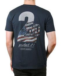 Cody James® Men's 2nd Amendment T-Shirt, , hi-res