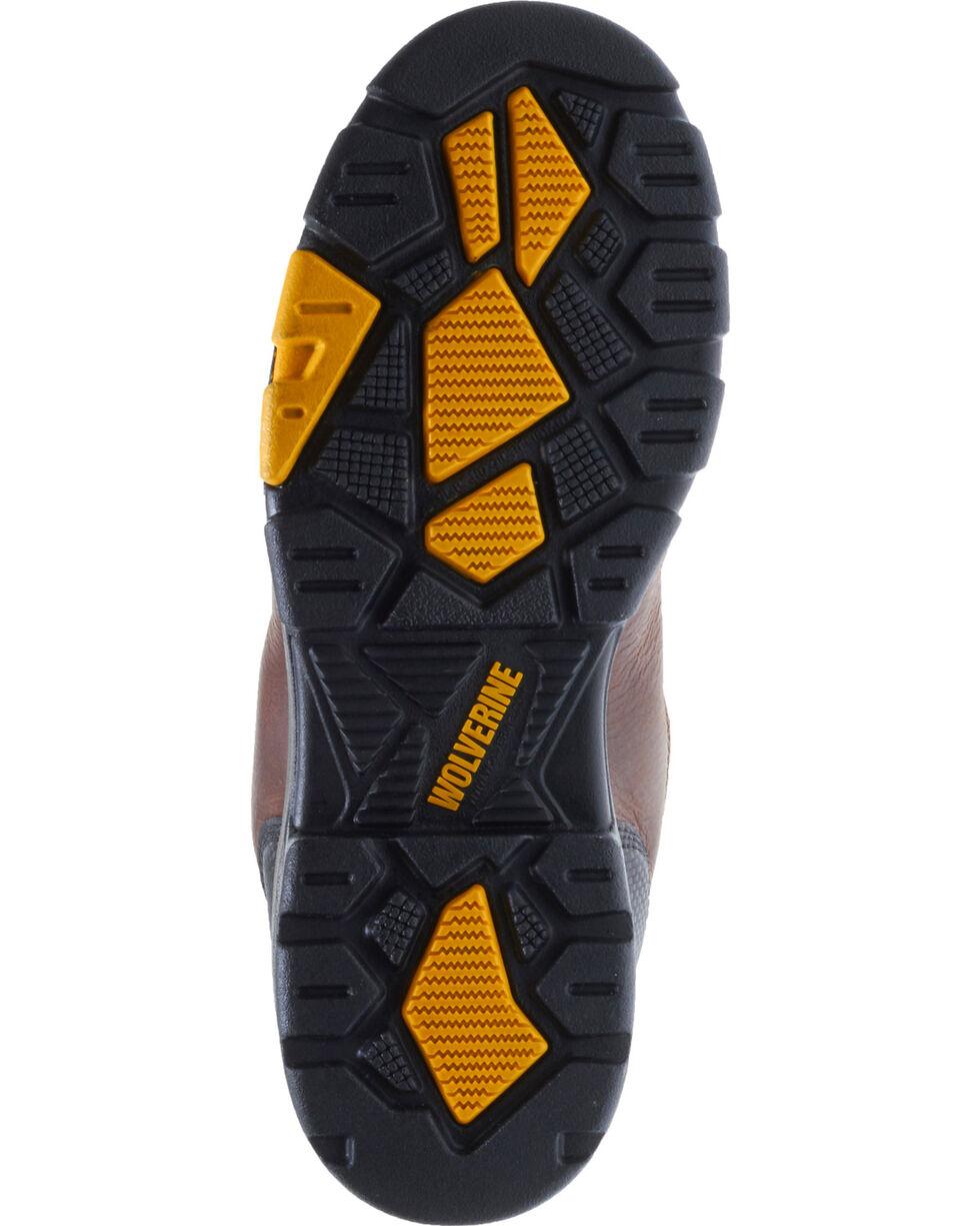 "Wolverine Men's Blade LX 10"" Wellington Work Boots - Composite Toe, Brown, hi-res"
