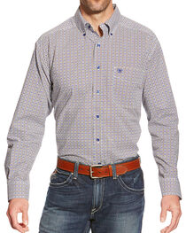 Ariat Men's Reyne Print Long Sleeve Shirt, , hi-res