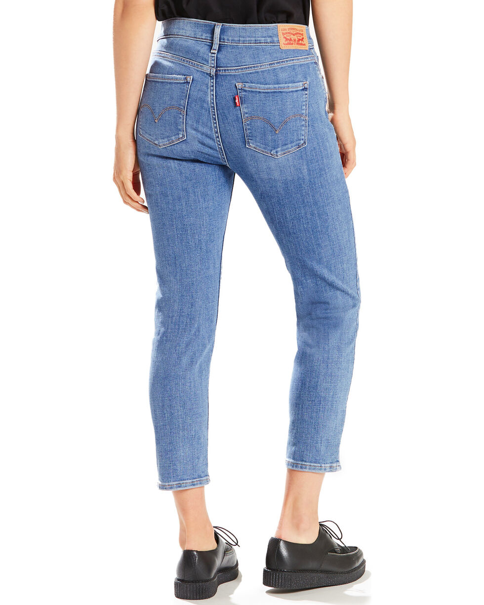 Levi's Women's Bay Ridge Classic Crop Jeans - Cropped Leg, Indigo, hi-res