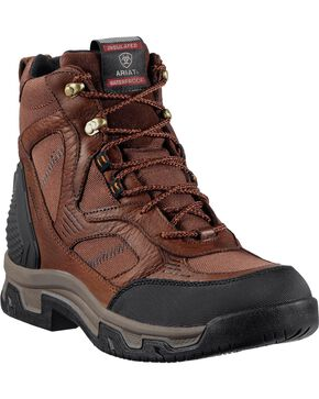 Ariat Men's Creston H2O Insulated Work Boots, Coffee, hi-res