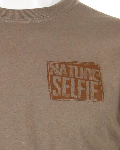 Nature Selfie Men's Stump Creek Bend Short Sleeve Tee, Lt Brown, hi-res