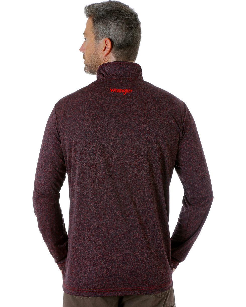 Wrangler Men's Black RIGGS WORKWEAR® 1/4 Zip Pullover - Big and Tall, Black, hi-res