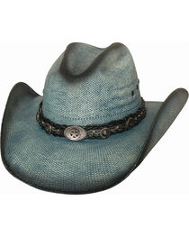 Bullhide Women's Into You Straw Hat, , hi-res