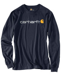 Carhartt Men's Long Sleeve Logo T-Shirt, , hi-res