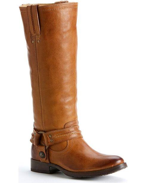 Frye Women's Melissa Harness Boots - Round Toe, Tan, hi-res