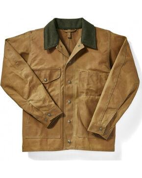Filson Men's Oil Finish Tin Cloth Jacket, Tan, hi-res