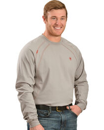 Ariat Men's Knit Fire Resistant Work Crew Long Sleeve, , hi-res