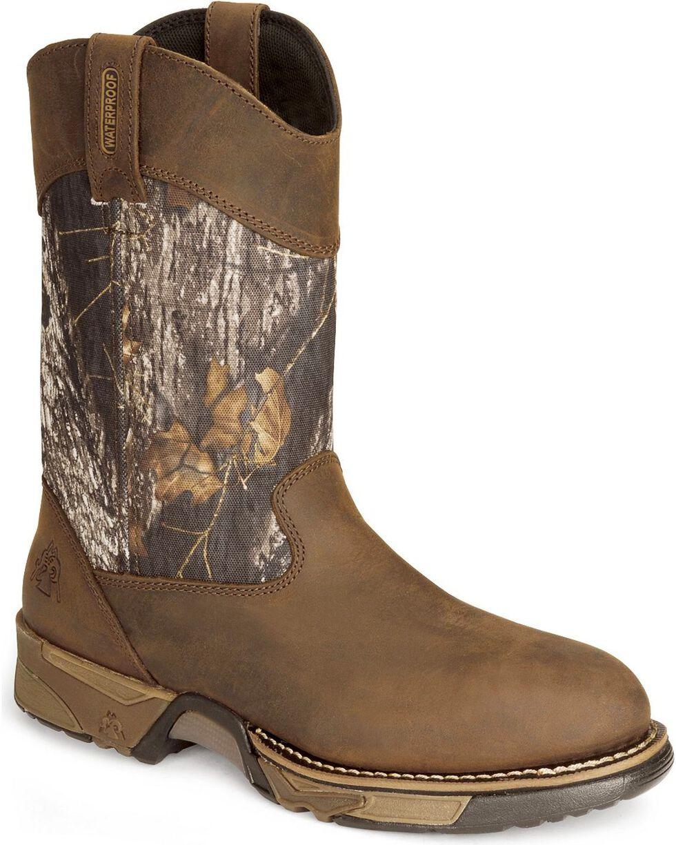 Rocky Men's Aztec Boots, Brown, hi-res