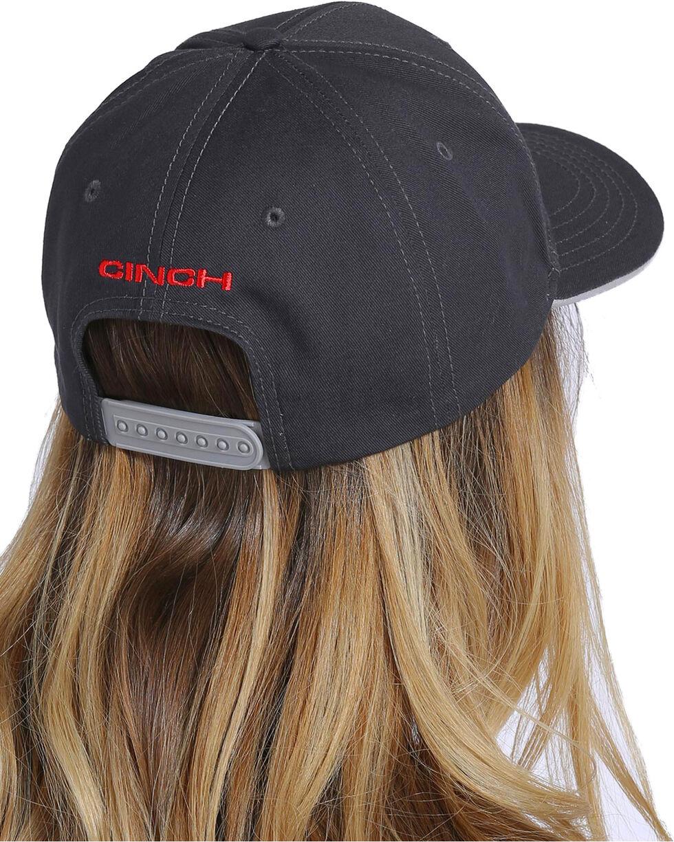 Cinch Women's Charcoal Twill Cap , Charcoal, hi-res