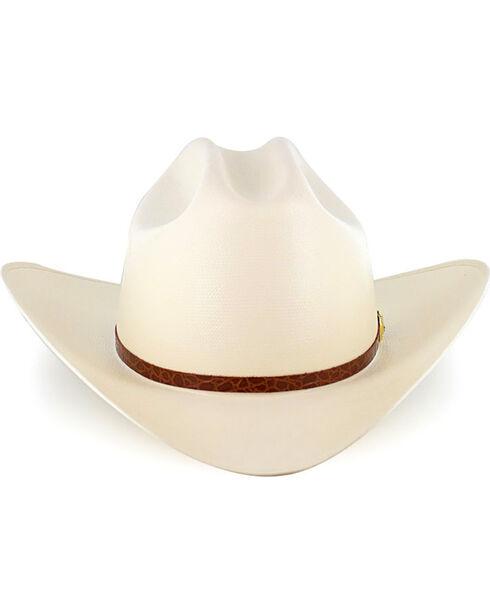 Larry Mahan Men's 15X El Primero Straw Hat, Natural, hi-res