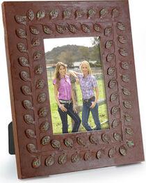 BB Ranch® Rustic Leaf Bordered Picture Frame, , hi-res