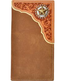 Tony Lama Star Concho Rodeo Wallet, , hi-res
