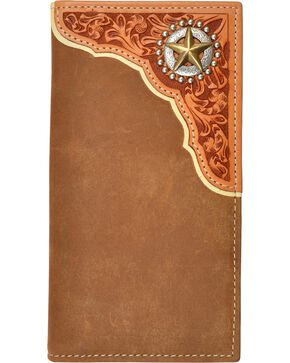 Tony Lama Star Concho Rodeo Wallet, Multi, hi-res