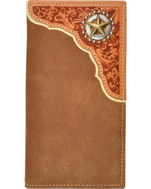 Tony Lama Star Concho Rodeo Wallet, Multi, hi-res