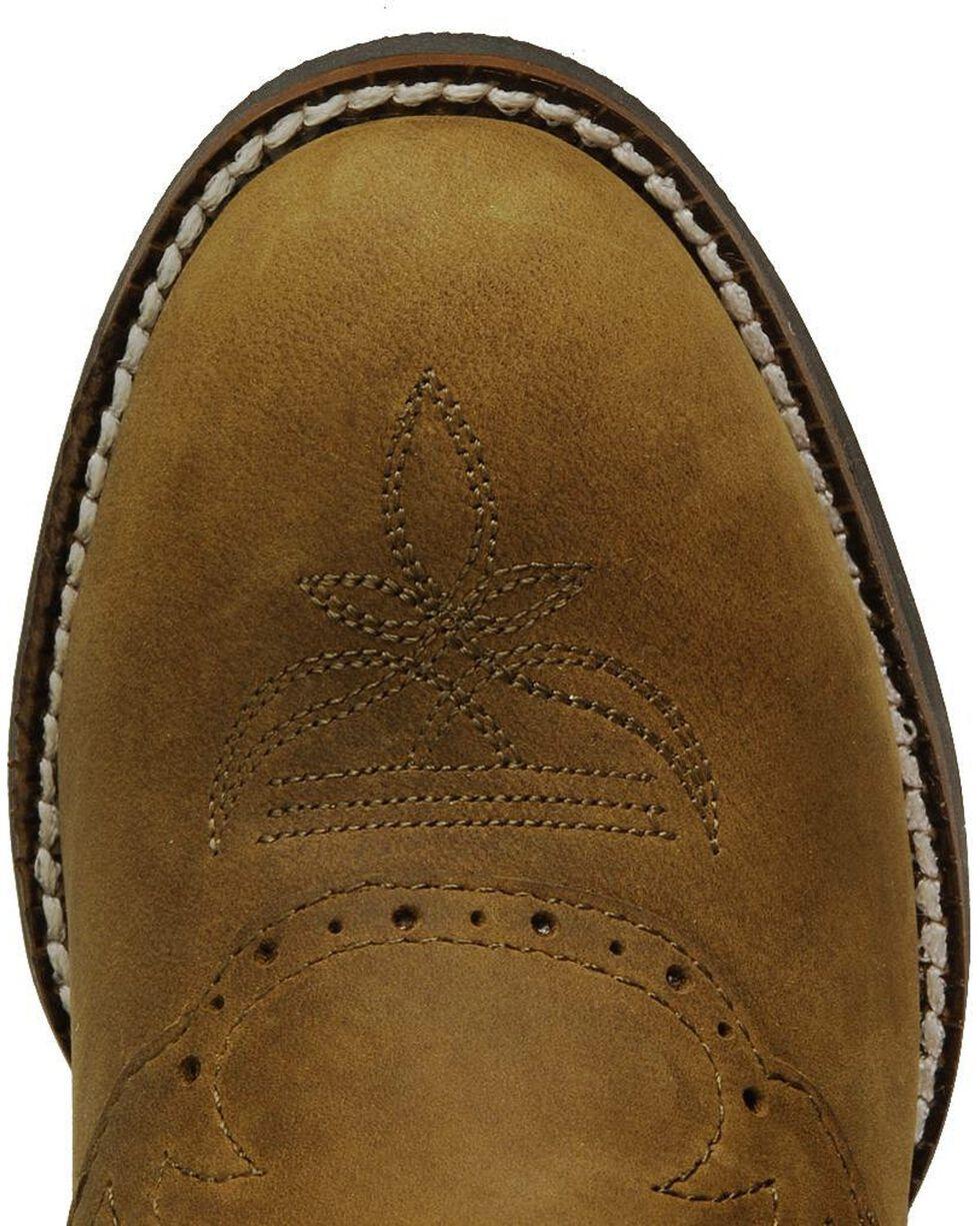 Tony Lama Kid's 3R Saddle Vamp Western Boots, Crazyhorse, hi-res