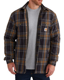 Carhartt Men's Hubbard Sherpa-Lined Shirt Jacket - Big, , hi-res