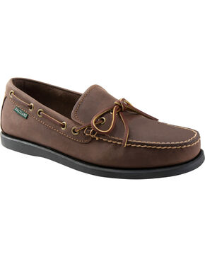 Eastland Men's Bomber Brown Yarmouth Camp Moc Slip On , Brown, hi-res