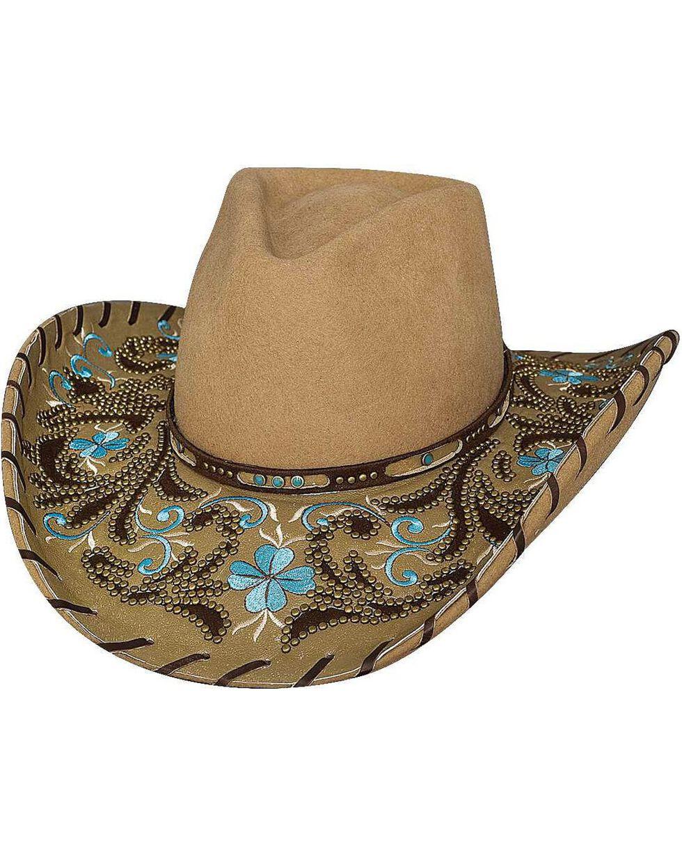 Bullhide Women's Always On My Mind Wool Hat, Camel, hi-res