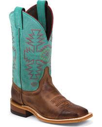 Justin Women's Aztec Bent Rail Western Boots, , hi-res