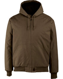 Wolverine Men's Dark Brown Jaxon Duck Jacket, , hi-res