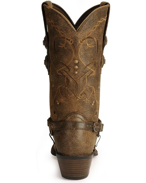 Durango Women's Crush Western Boots, Brown, hi-res