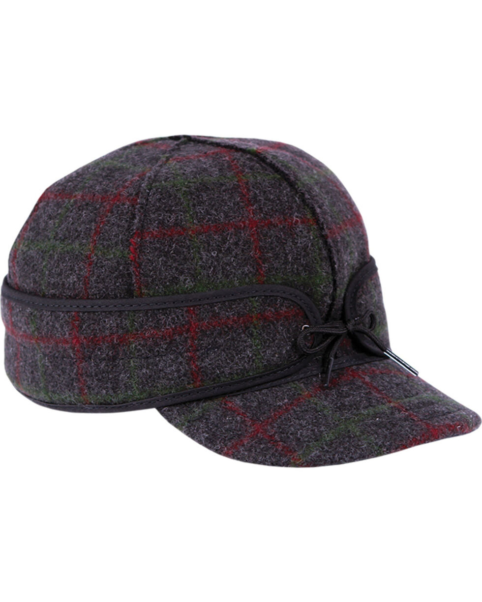 Stormy Kromer Men's Adirondack Plaid Original Cap, Multi, hi-res