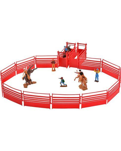 Bigtime Rodeo Bull Rider & Rodeo Set, Brown, hi-res
