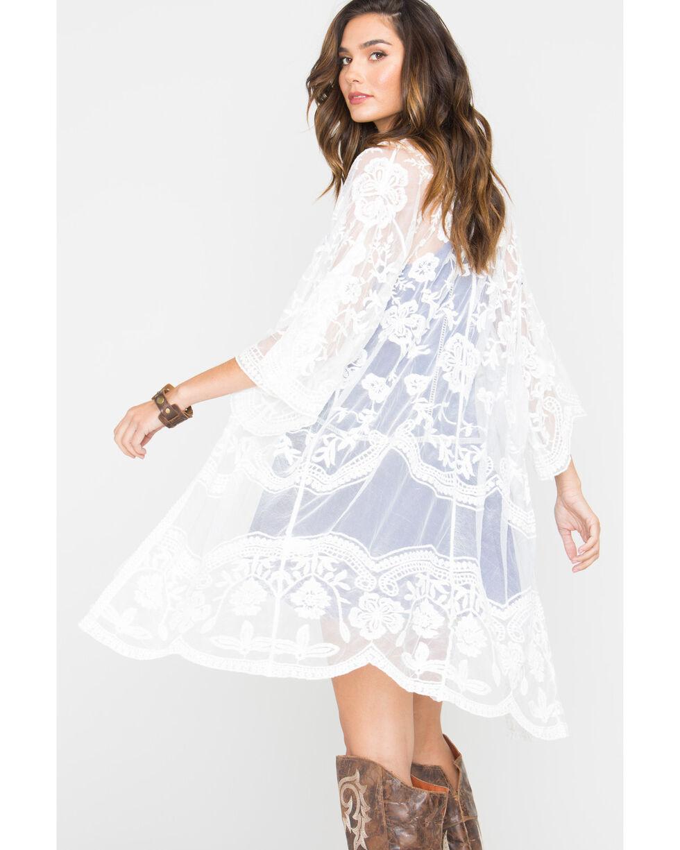 Polagram Women's Lace Kimono , , hi-res