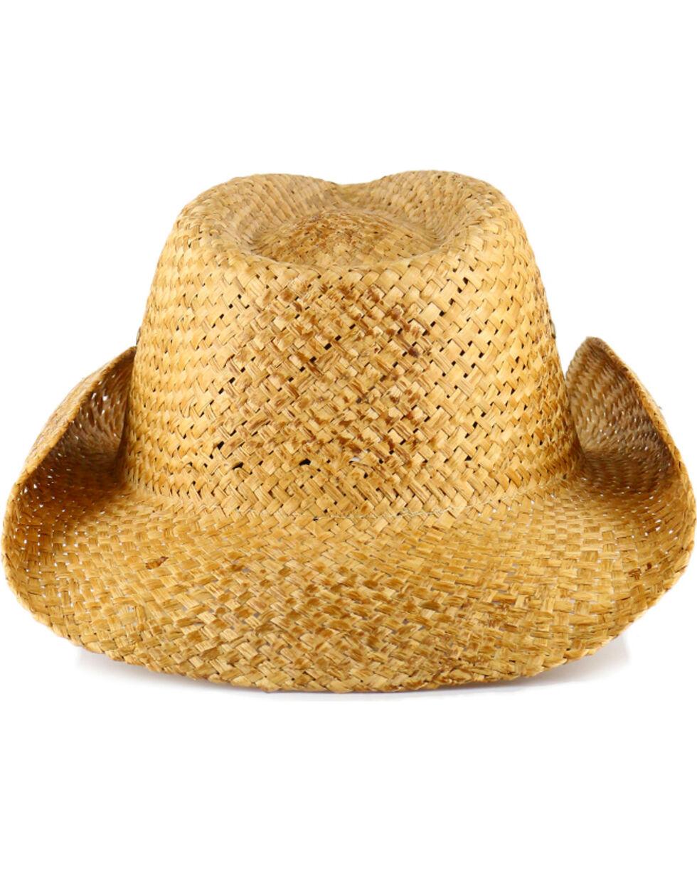 Cody James® Natural Straw Cowboy Hat, Brown, hi-res