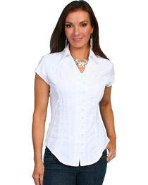 Scully Women's Cap Sleeve Cantina Shirt, , hi-res