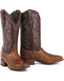 Stetson Men's Branson Caiman Exotic Boots, , hi-res