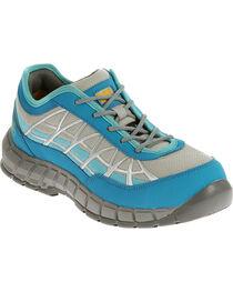 Caterpillar Women's Blue Connexion Work Shoes - Steel Toe , , hi-res